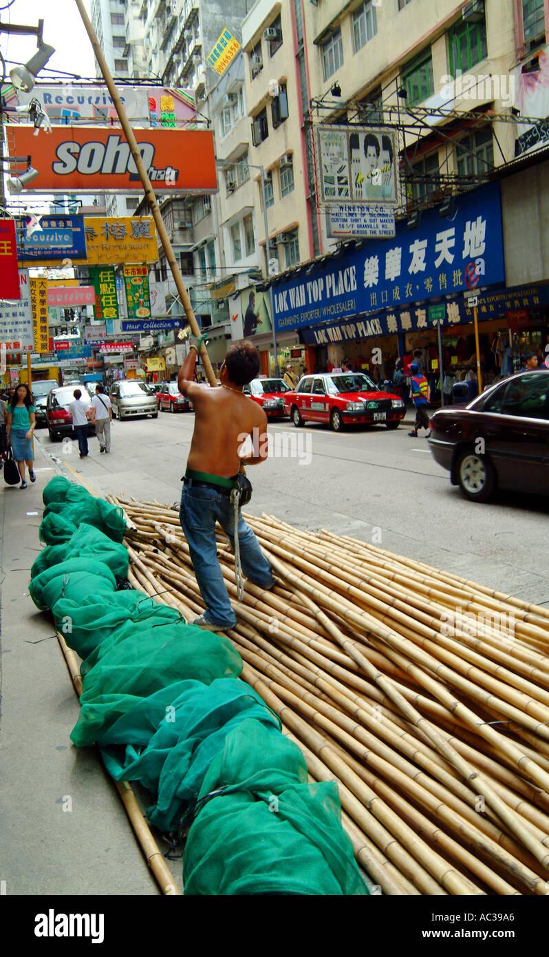 bamboo - Stock Image