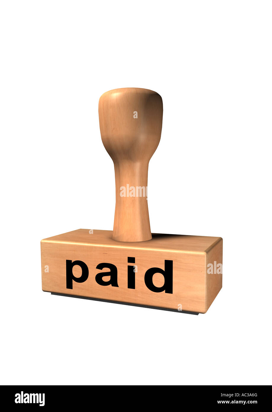stamp chop core indenter indentor punch paid Stock Photo