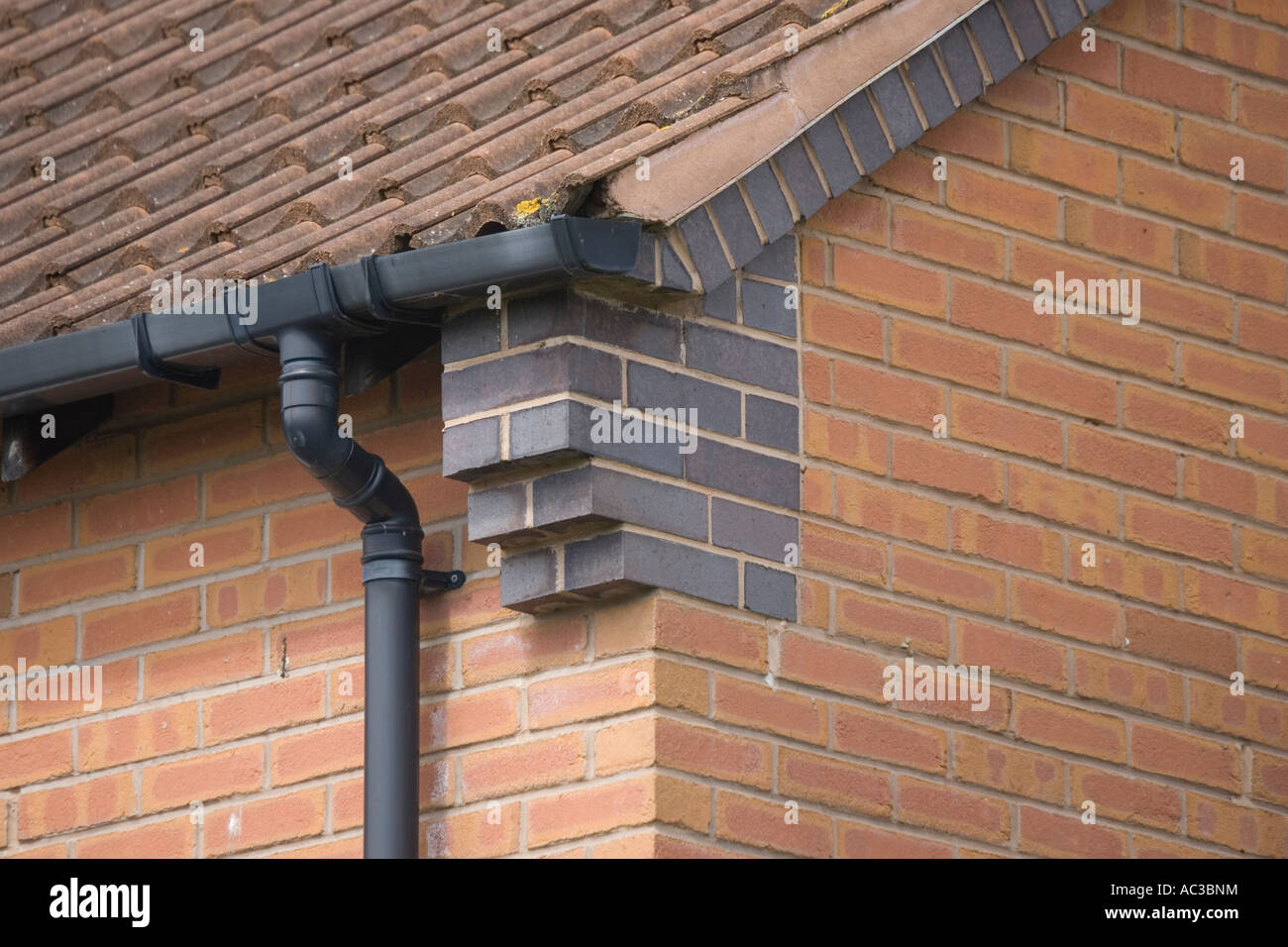 Corbelling Or Brickwork Corbels At Gable Corners Of House