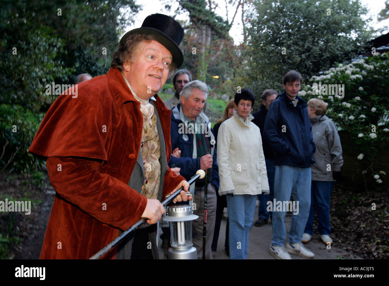 Ghost Walk St Catherines Light House Niton Isle of Wight UK England great Britain - Stock Image