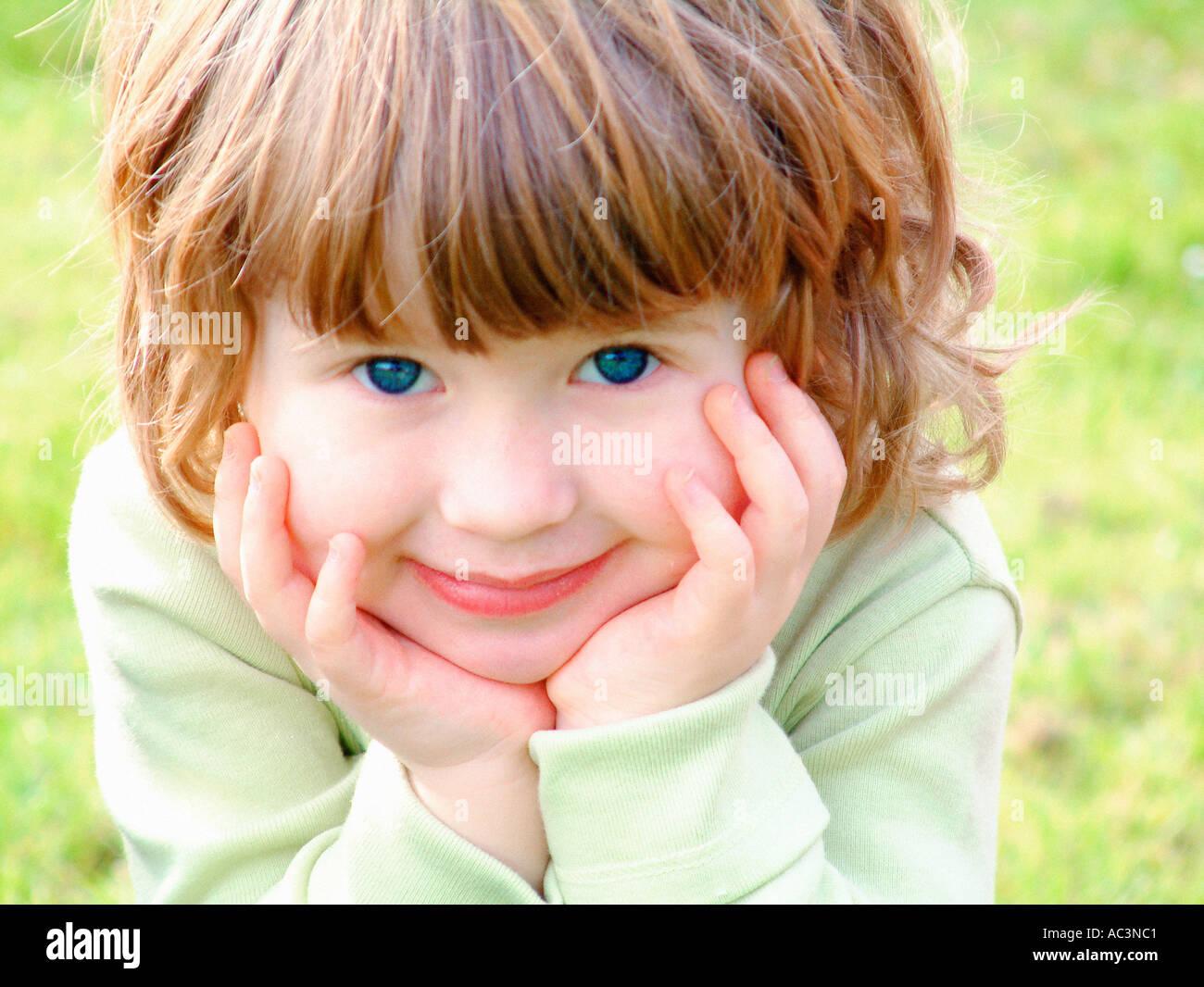 Pretty Face - Stock Image