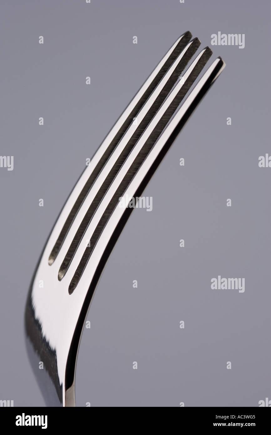 fork prongs - Stock Image