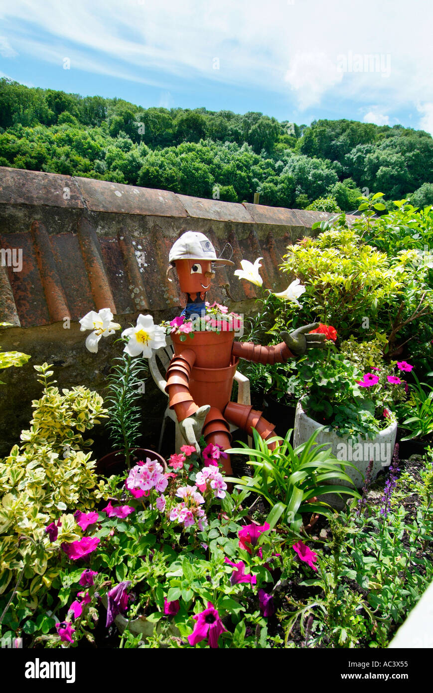Cottage Garden Pots Bill and ben flower pot men man men english country cottage garden bill and ben flower pot men man men english country cottage garden devon uk gb eu europe workwithnaturefo