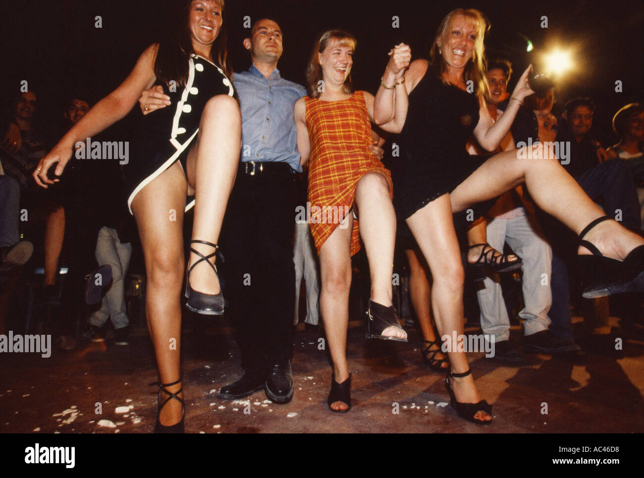 CLUB 18 30 DRINKING BOOZING PARTYING - Stock Image