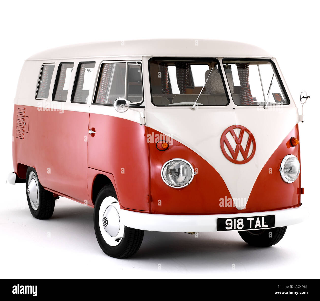 1963 Volkswagen Devon Camper van - Stock Image