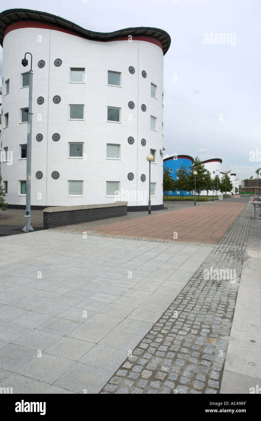 Newham Council Building By The Royal Docks