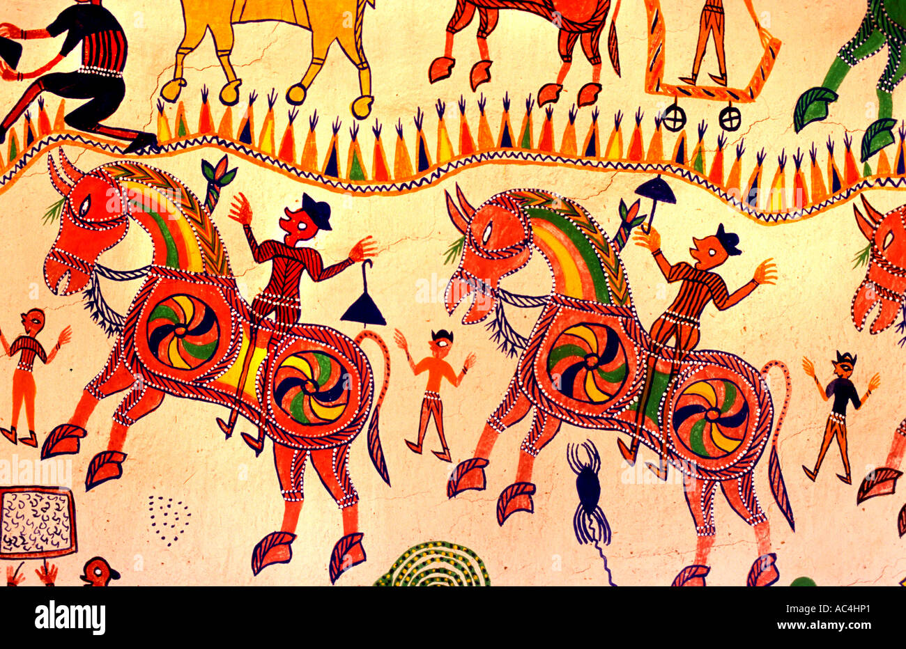 Painting Horse India Stock Photos & Painting Horse India Stock ...