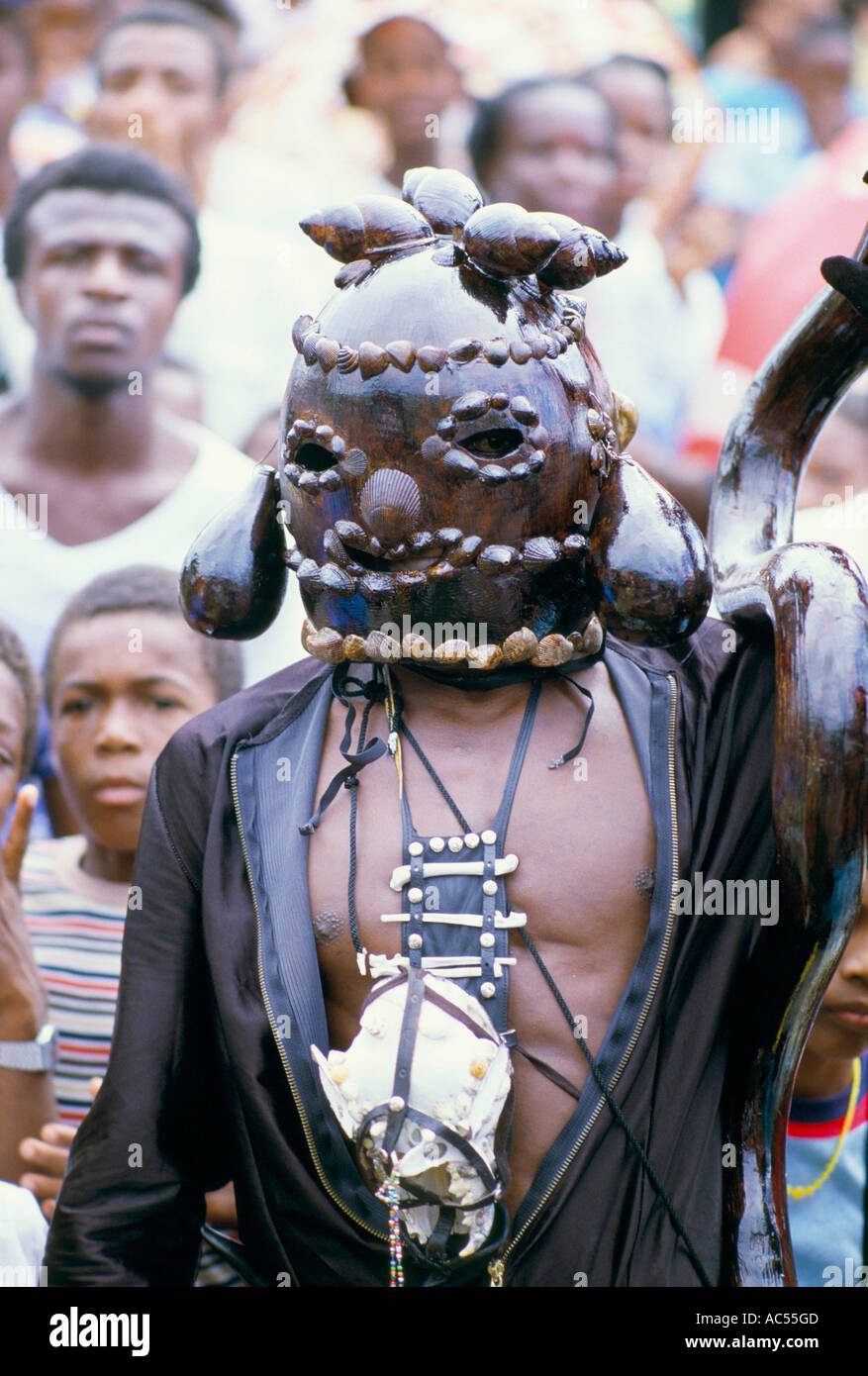 Traditional Mask St Vincent 1985 Stock Photo 7453900 Alamy