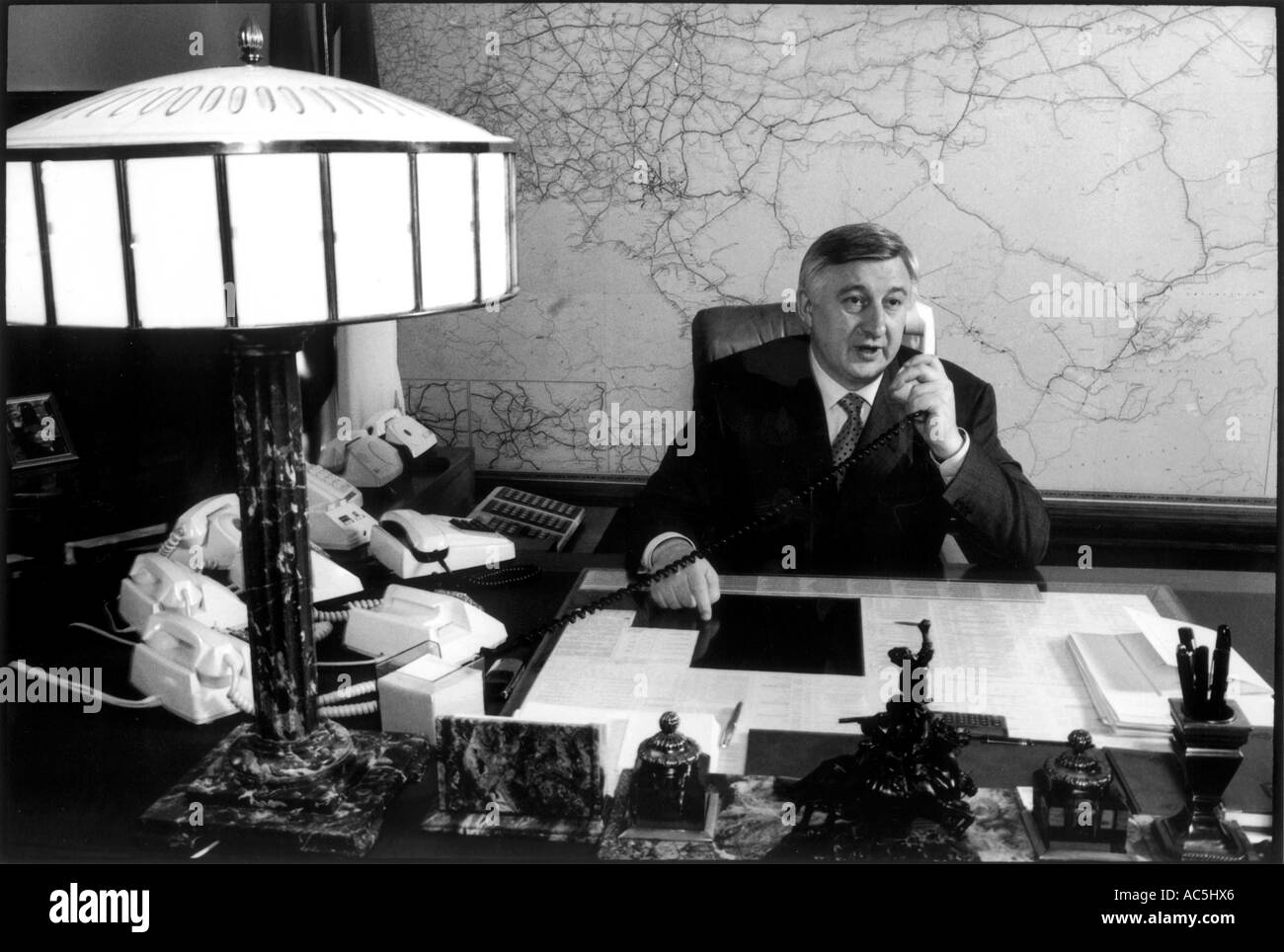 Nikolai Aksyonenko Russia's first deputy prime minister - Stock Image