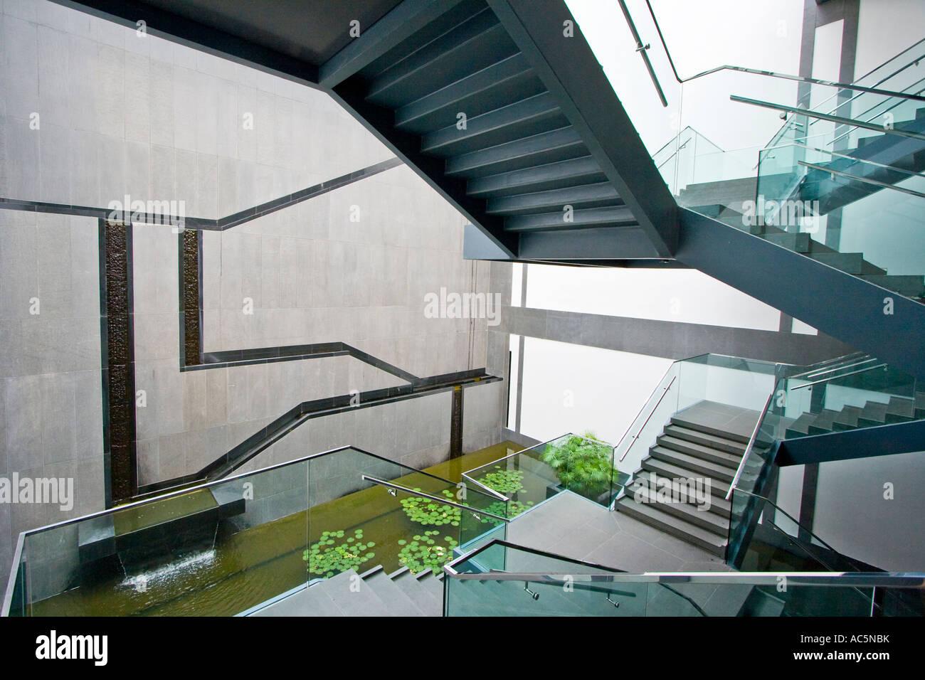 Freestanding Staircase Suzhou Museum Designed By Im Pei