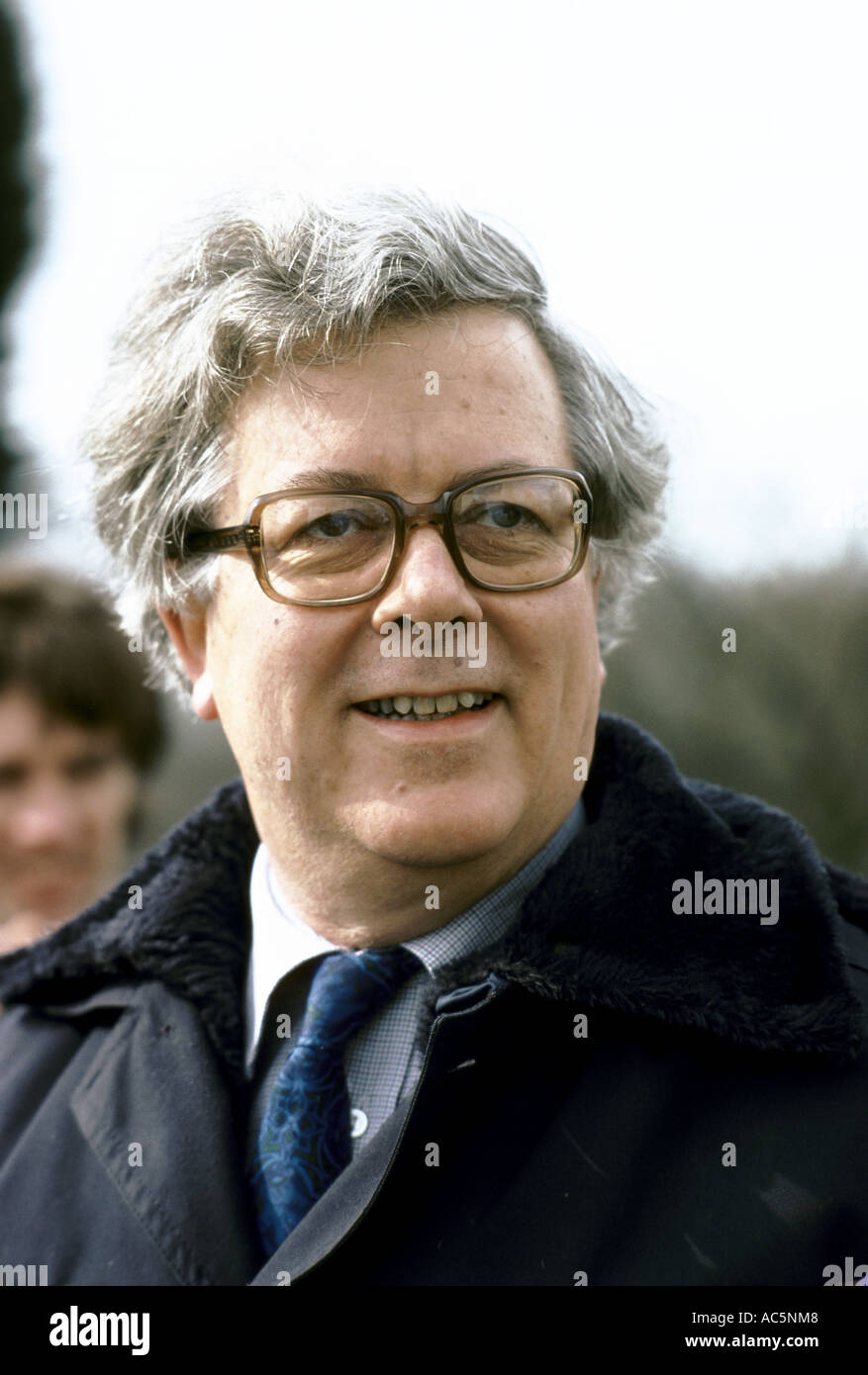 Sir Geoffrey Howe chancellor of the exchequer - Stock Image