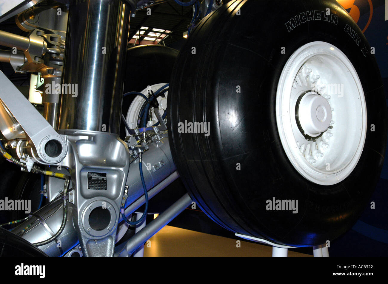 Aeroplane Wheel Stock Photos & Aeroplane Wheel Stock Images