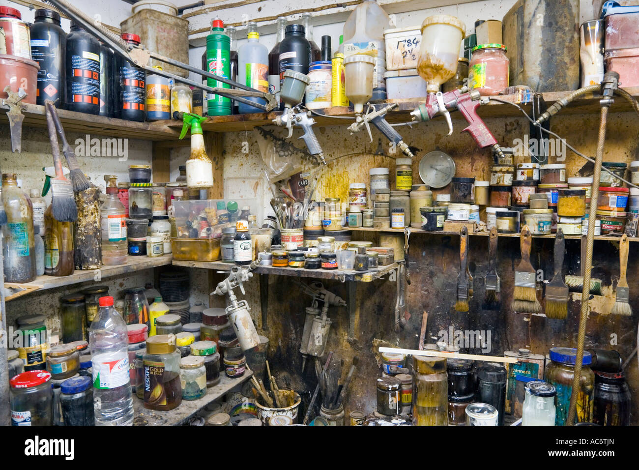 Gibraltar Detail In Furniture Restoring Workshop Of Sanquinetti Main Street