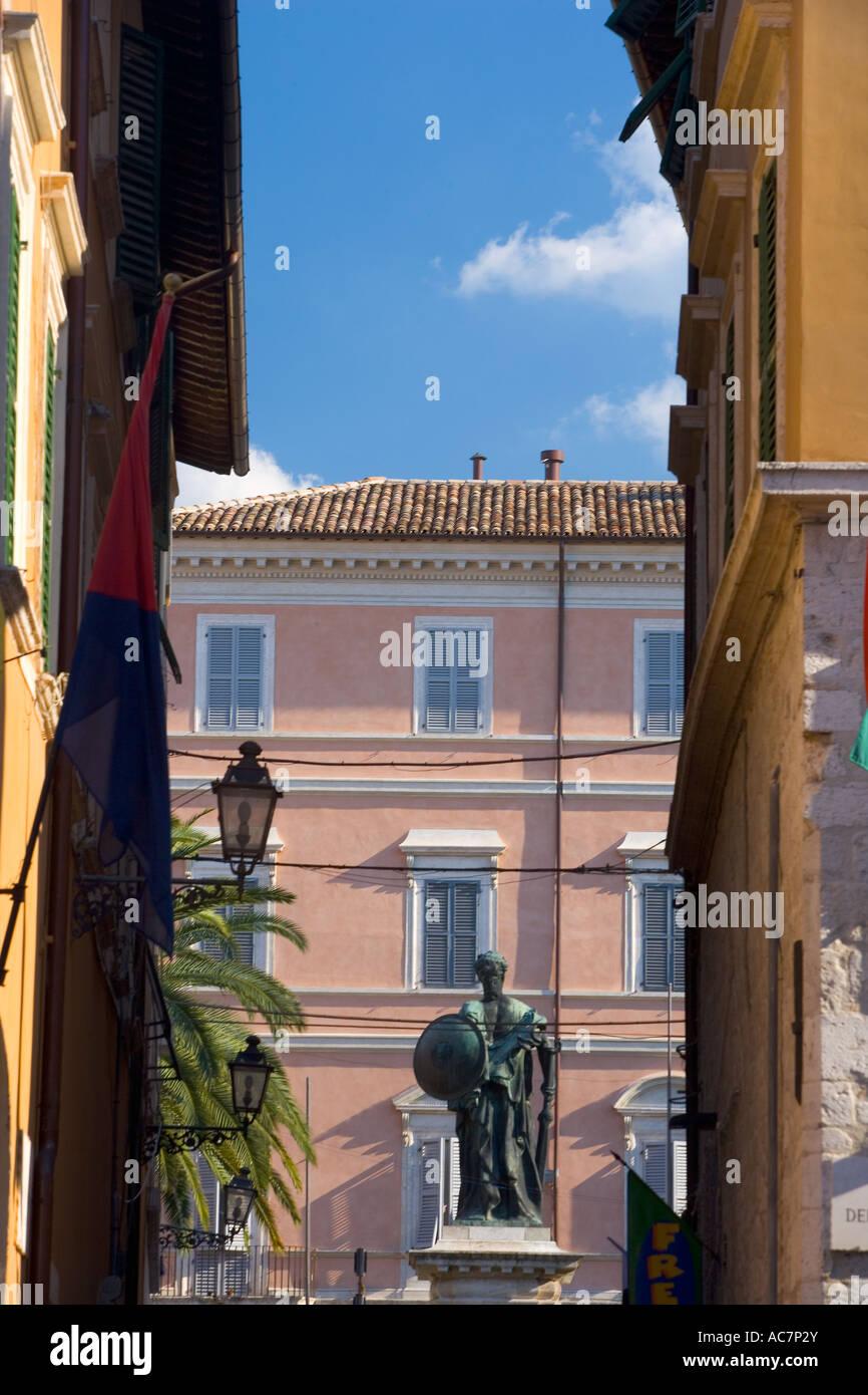 Ascoli Piceno The Marche Italy - Stock Image