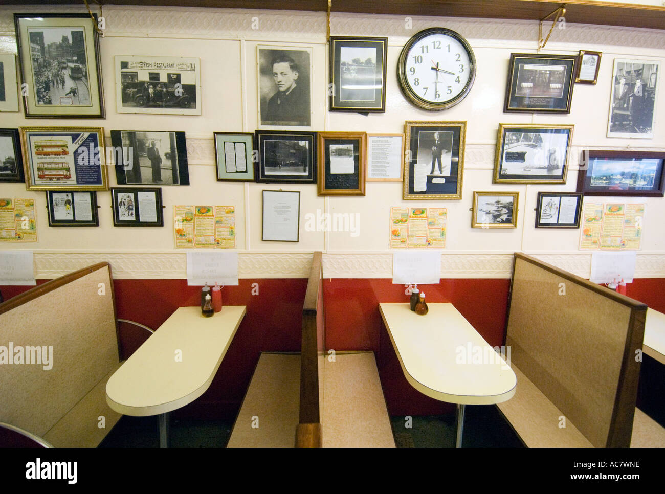 Interior Of Old Fashioned And Traditional Fish And Chip Shop Called Stock Photo Alamy