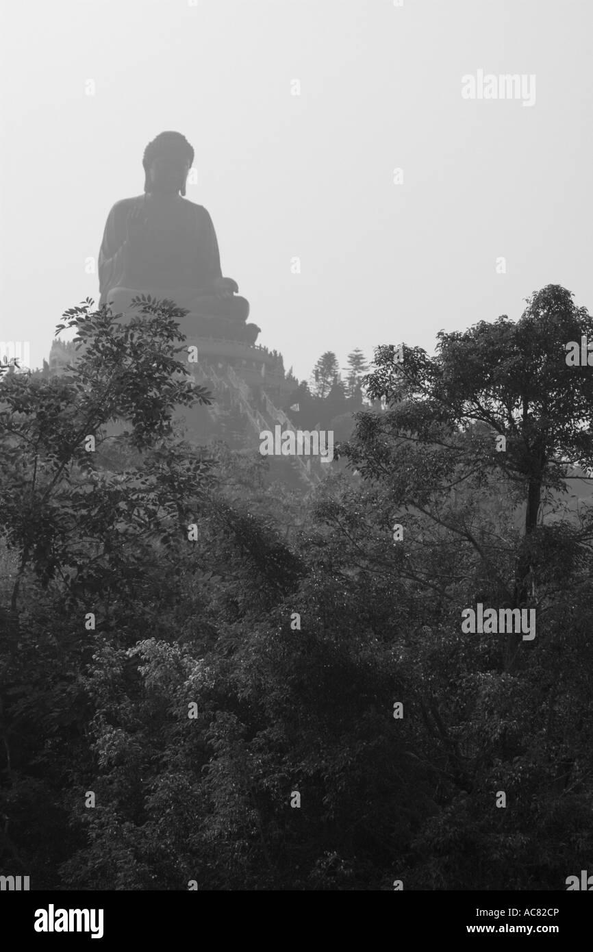 Buddha, Lantau Island, Hong Kong, China, Asia - Stock Image