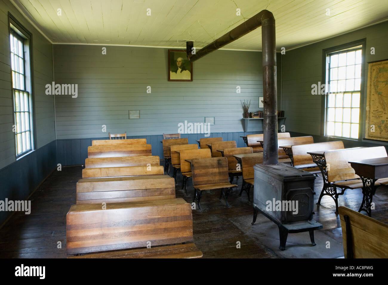 One Room Schoolhouse Erie Canal Village Rome New York Oneida County