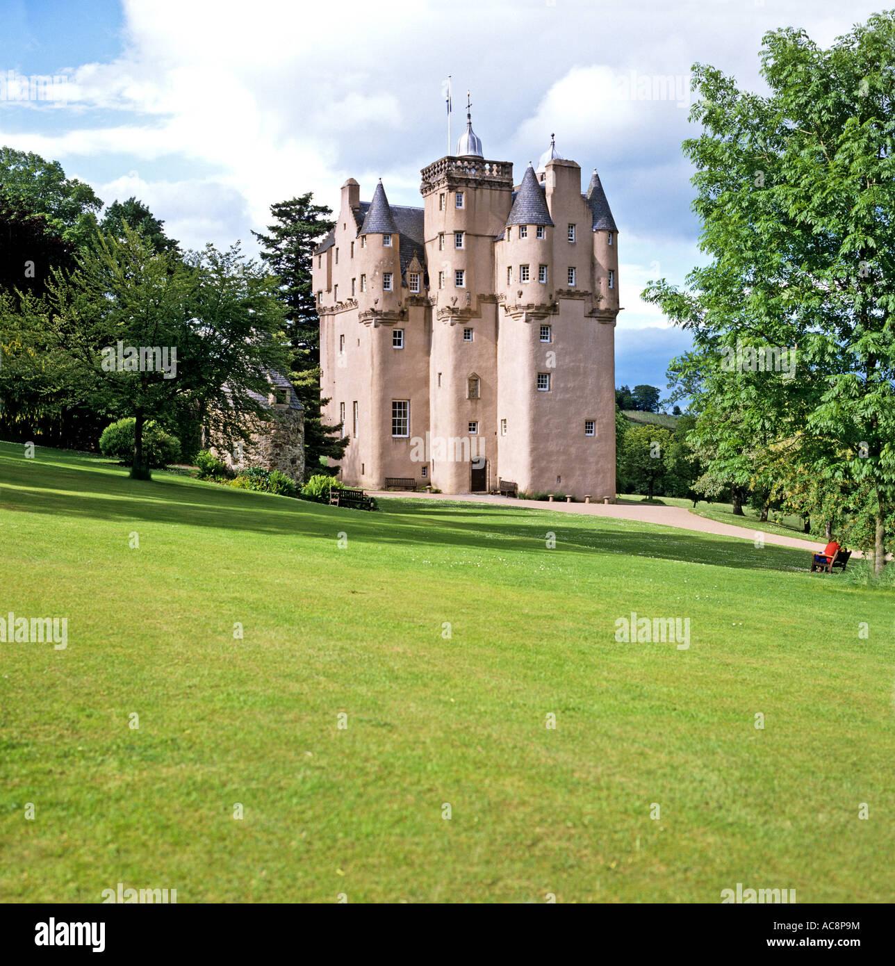 Craigievar castle Grampian region Scotland UK EU - Stock Image