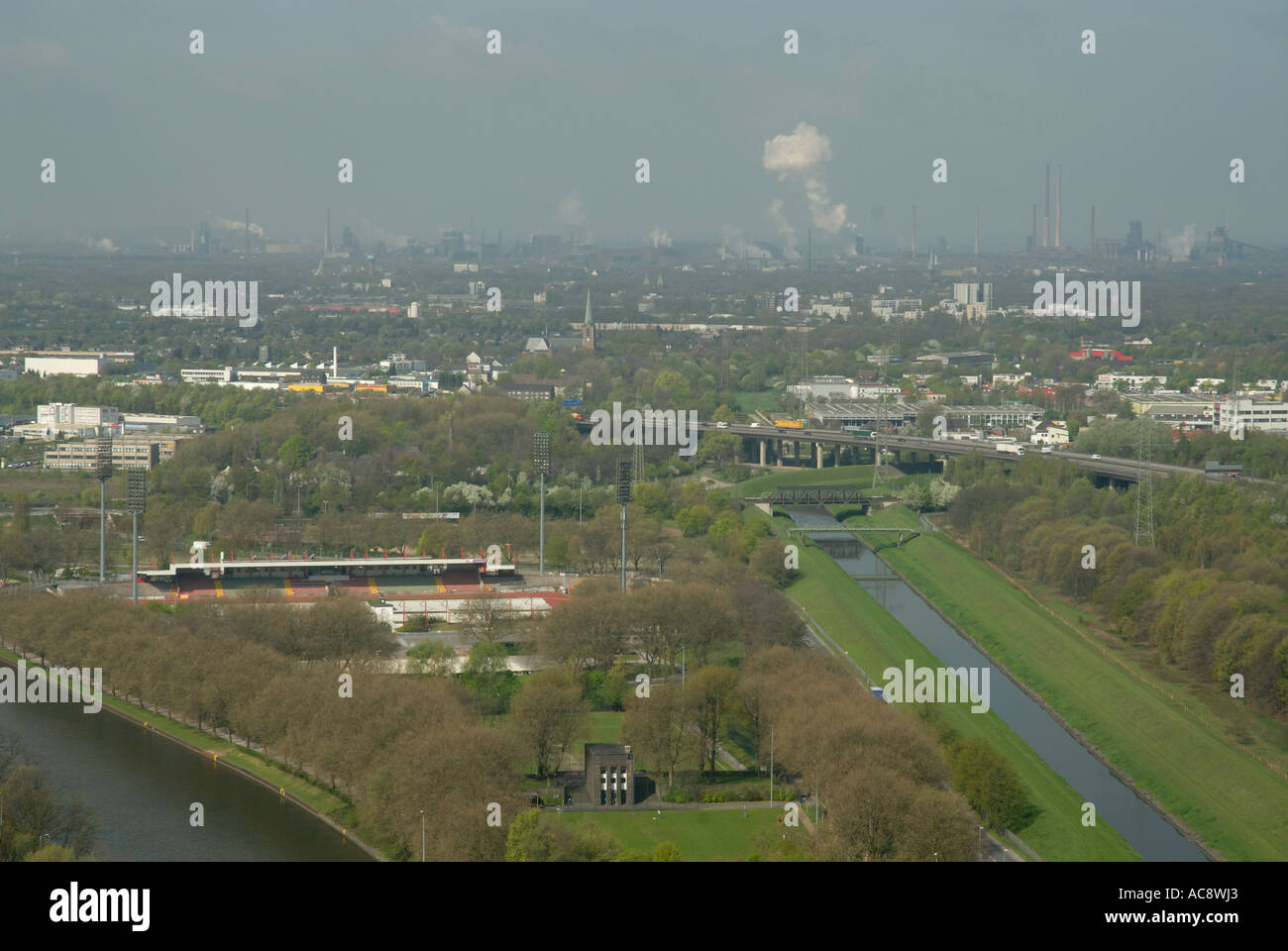 Industrial Ruhr Region, Germany - Stock Image