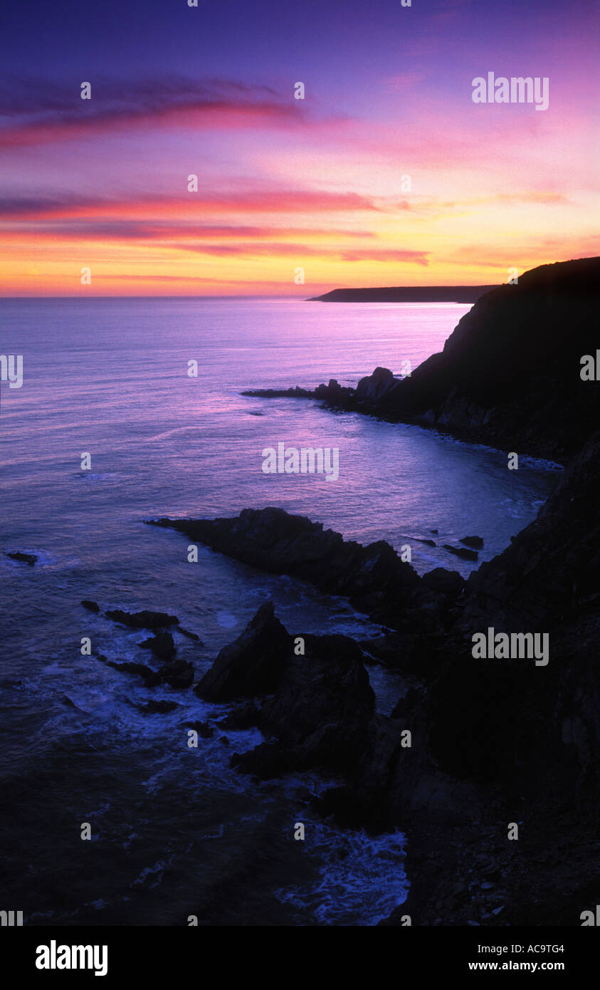 Erme Mouth, Beacon Point, Devon, England, UK, Europe - Stock Image
