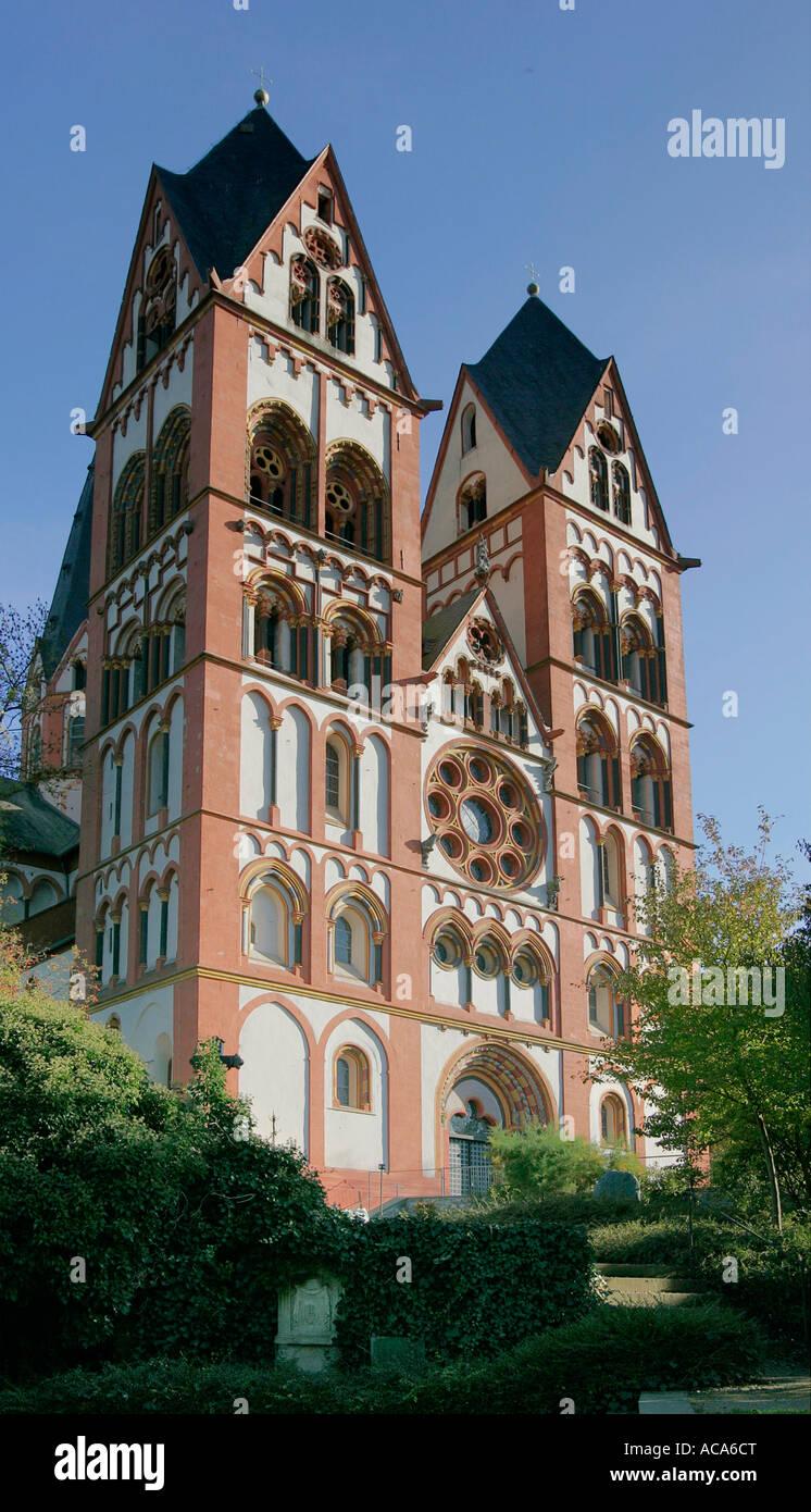 The Cathedral of Limburg, Limburg, Hesse, Germany Stock Photo