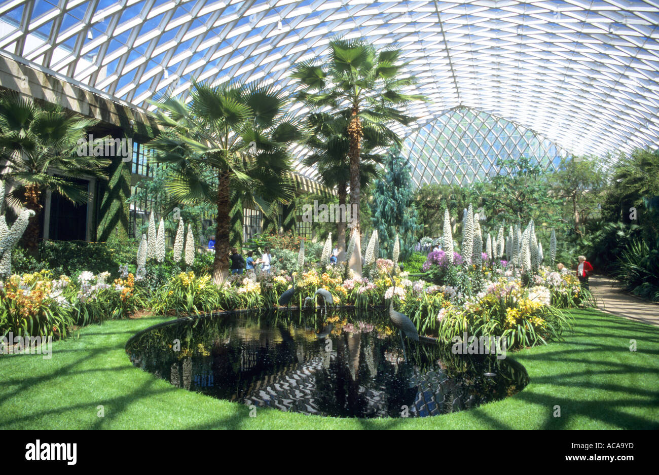 Superieur Interior Of The Conservatory At Longwood Gardens ...