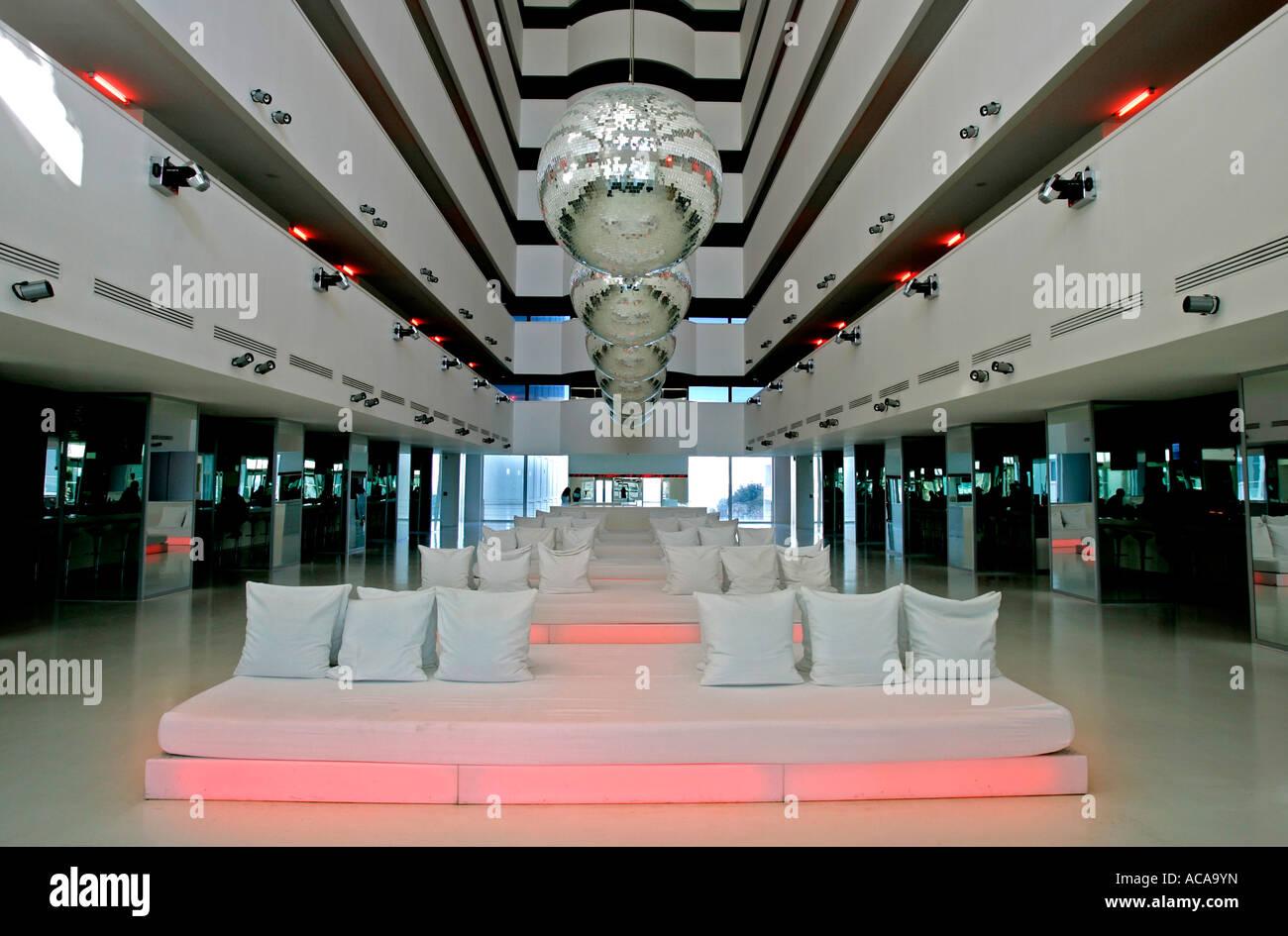Lobby, 5-star Resort Hotel, Hillside SU, Antalya, Turkey - Stock Image