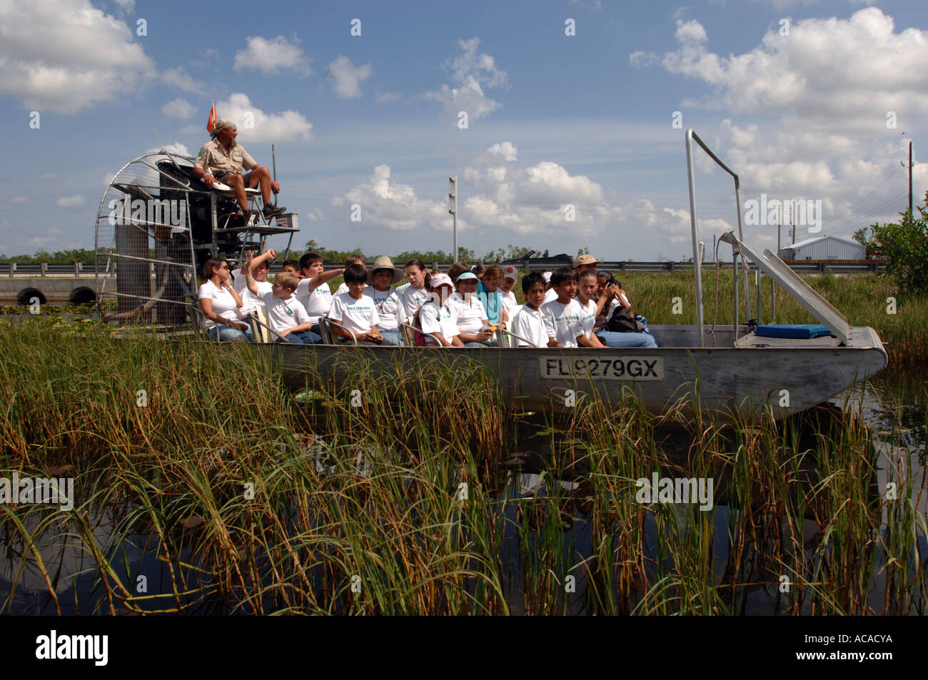 Airboat Ride Gator Park Miami In The Everglades National Park