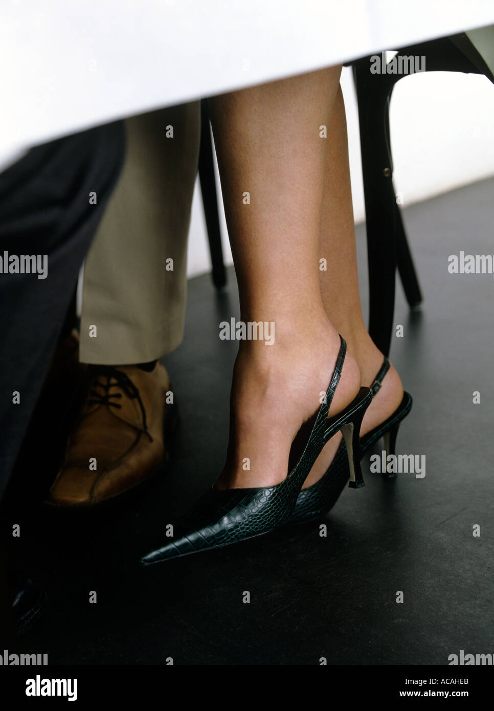 Legs Under Table Stock Photos Legs Under Table Stock Images Alamy