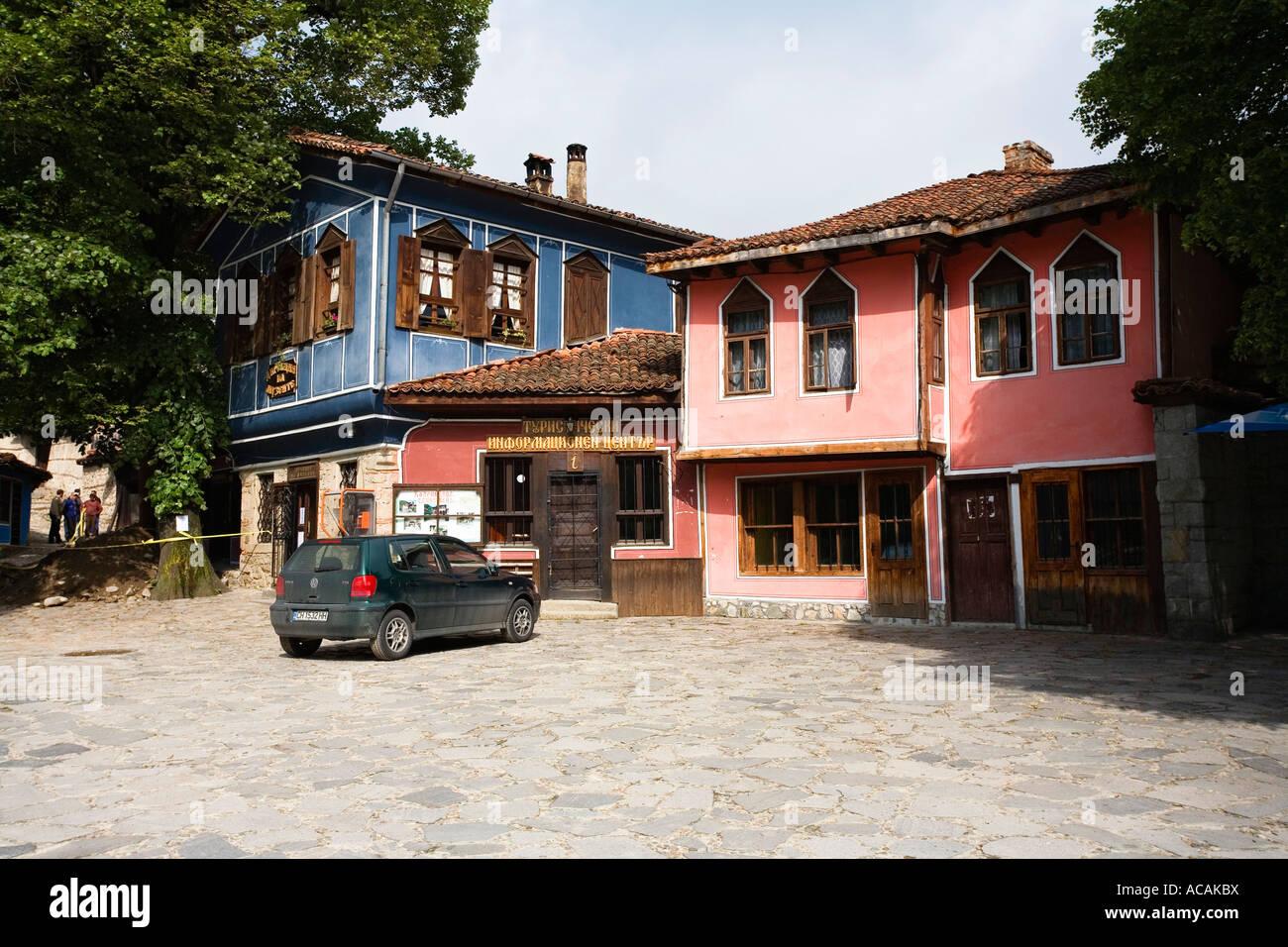 Museum town Koprivstiza, Bulgaria - Stock Image