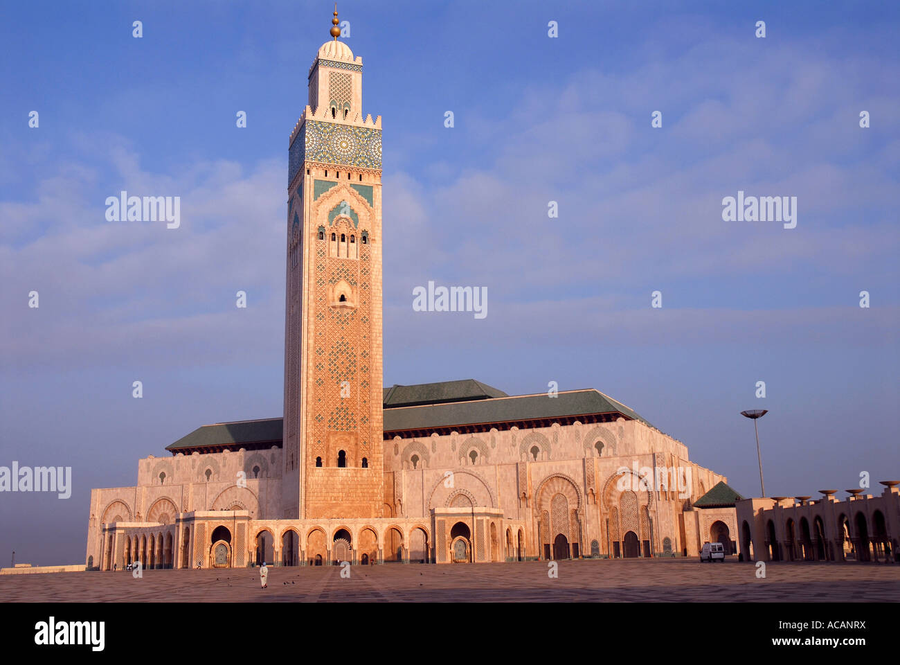 Hassan II Mosque, Casablanca, Morocco, Africa Stock Photo