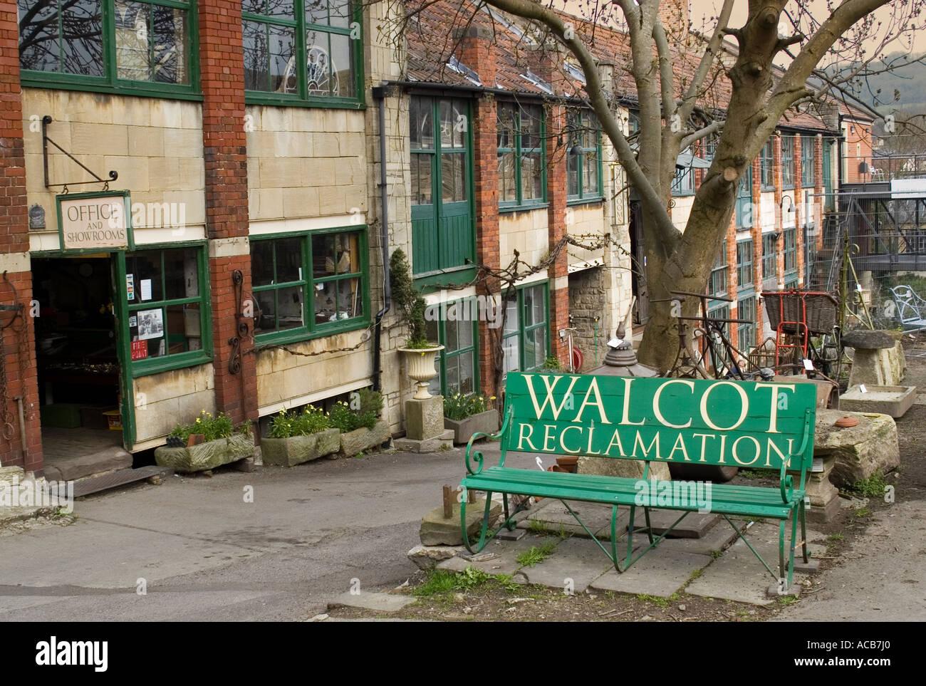Reclamation yard on Walcot Street BATH England UK Stock Photo ...