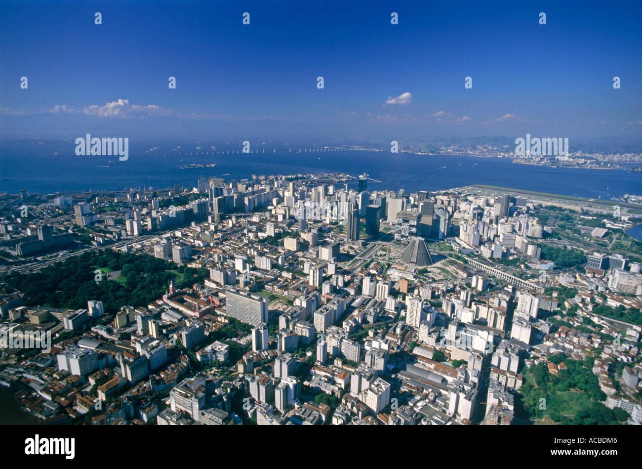 suburb of city of rio de janeiro brazil - Stock Image