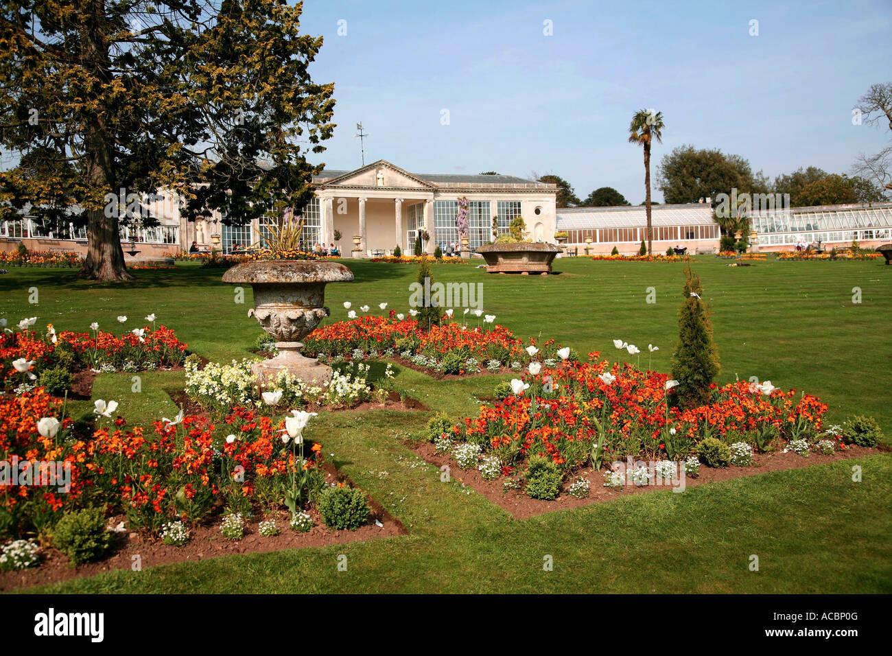 Bicton Park Botanical Gardens Stock Photos & Bicton Park Botanical ...