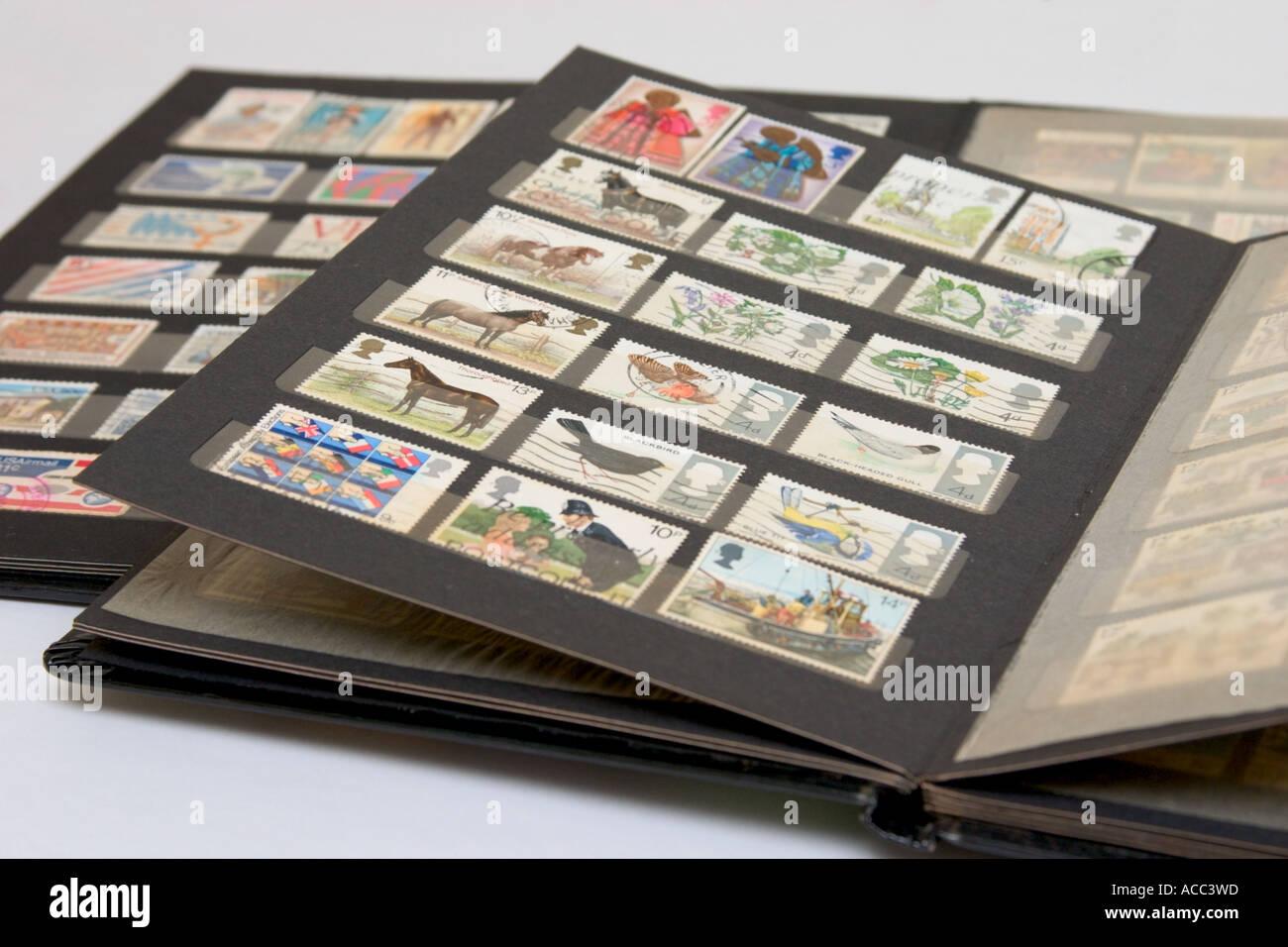 Stamp Album Stock Photos & Stamp Album Stock Images - Alamy
