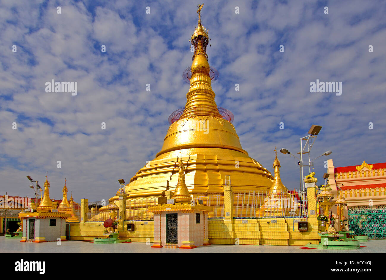 Burma Myanmar Botataung Pagode - Stock Image