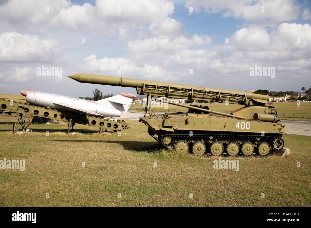 Stock Photo of Soviet Missiles in Cuba. - Stock Image