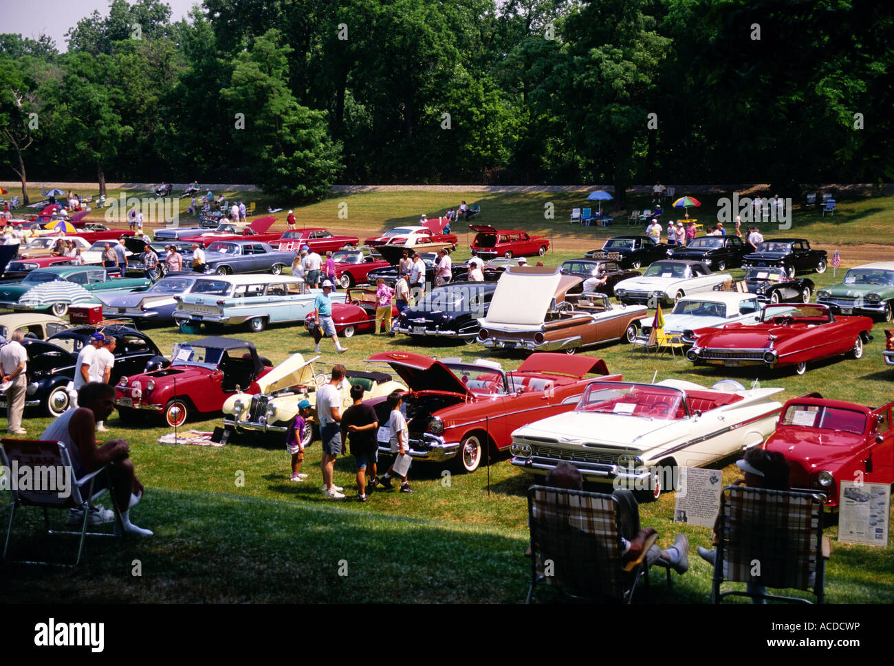 Greenfield Village Car Show