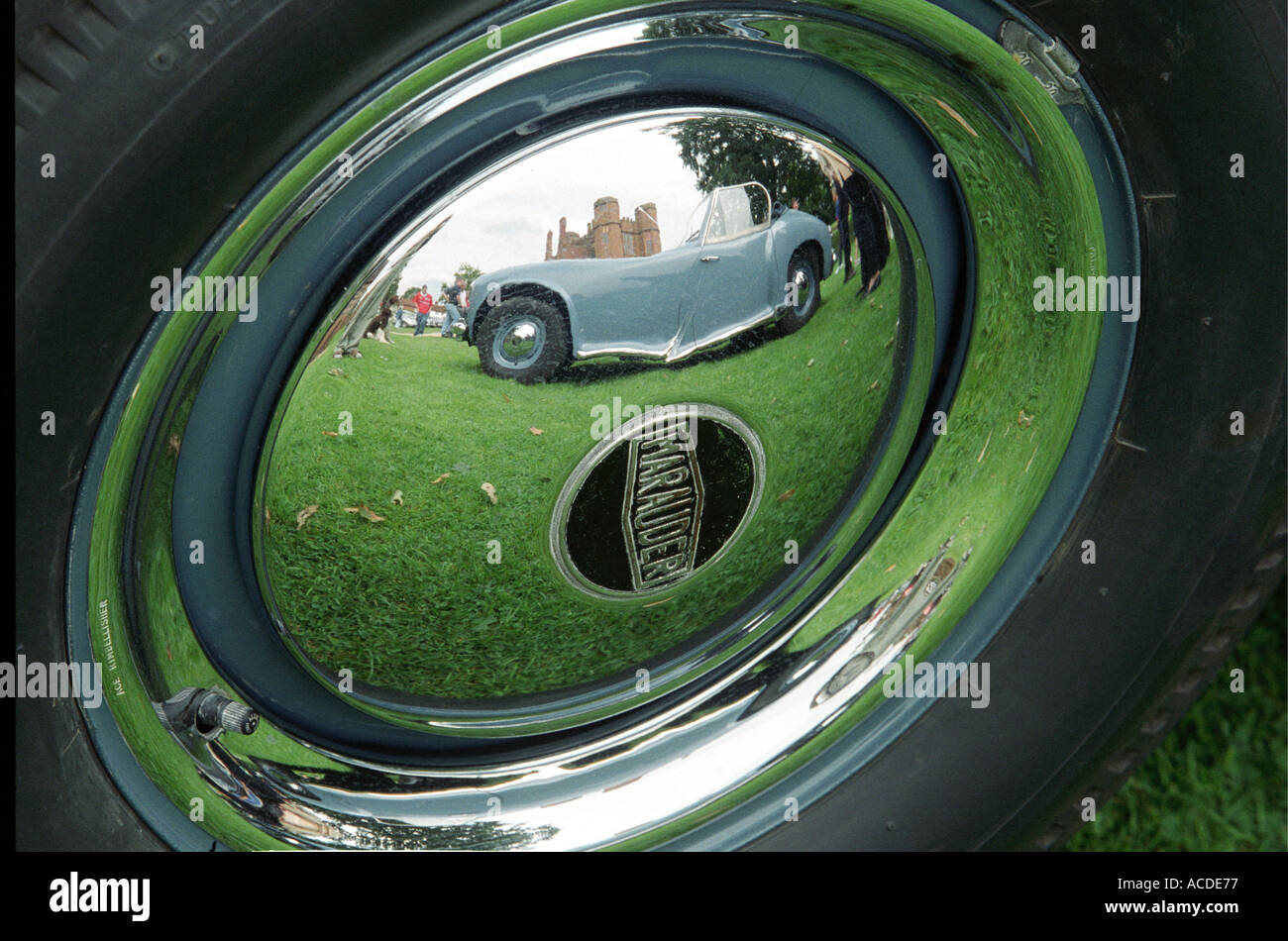 The Marauder motor car made in England in the 1950 s Only fifteen cars were made and twelve are still in existence - Stock Image