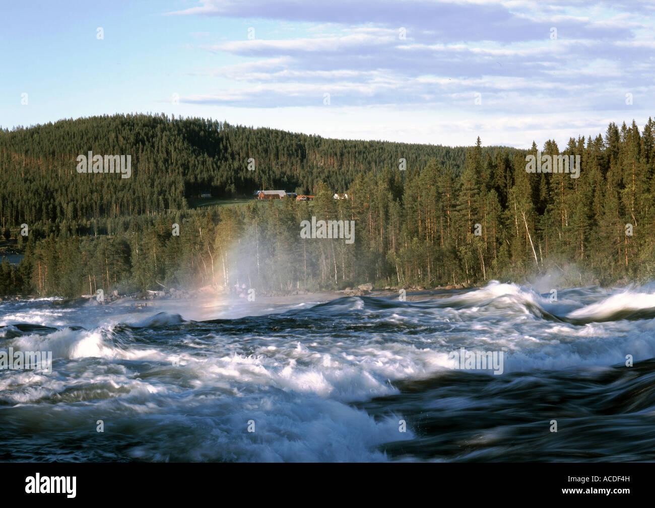 Cascade Storforsen - Stock Image