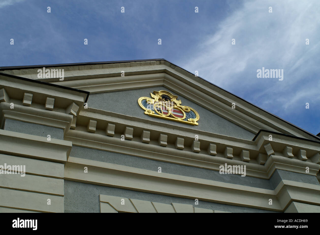 detail Zeughaus Wismar Hanse town city Germany Mecklenburg Pomerania - Stock Image