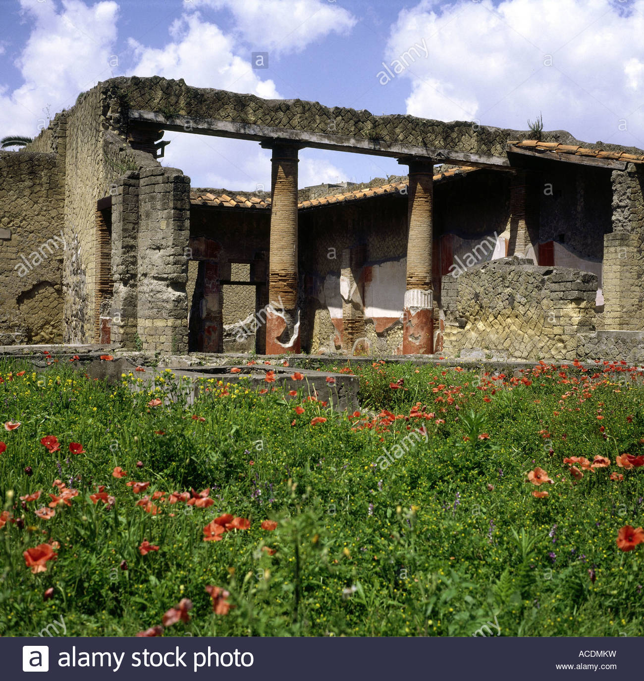 geography / travel, Italy, Naples, Ercolano, Herculaneum, House of the Gem (Casa della Gemma), Additional-Rights Stock Photo