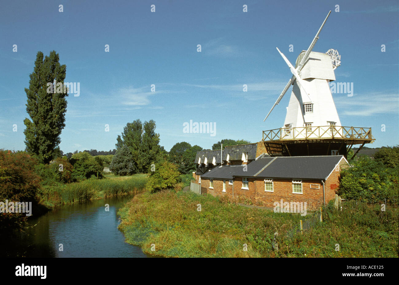 Rye Windmill Sussex England UK - Stock Image