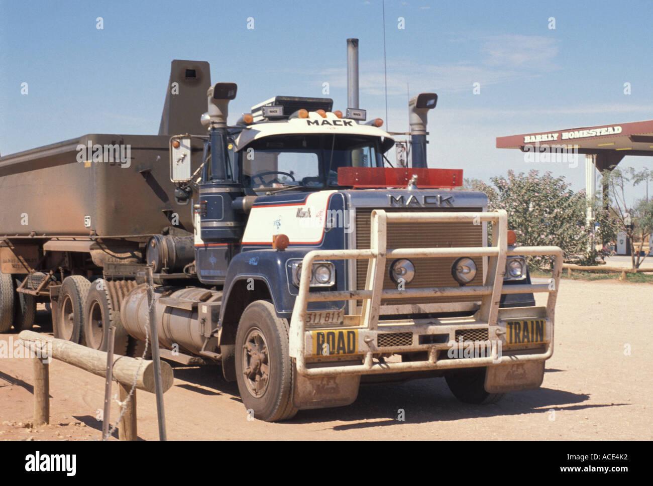 big mack outback stock photo 7502129 alamy Dump Truck Show big mack outback