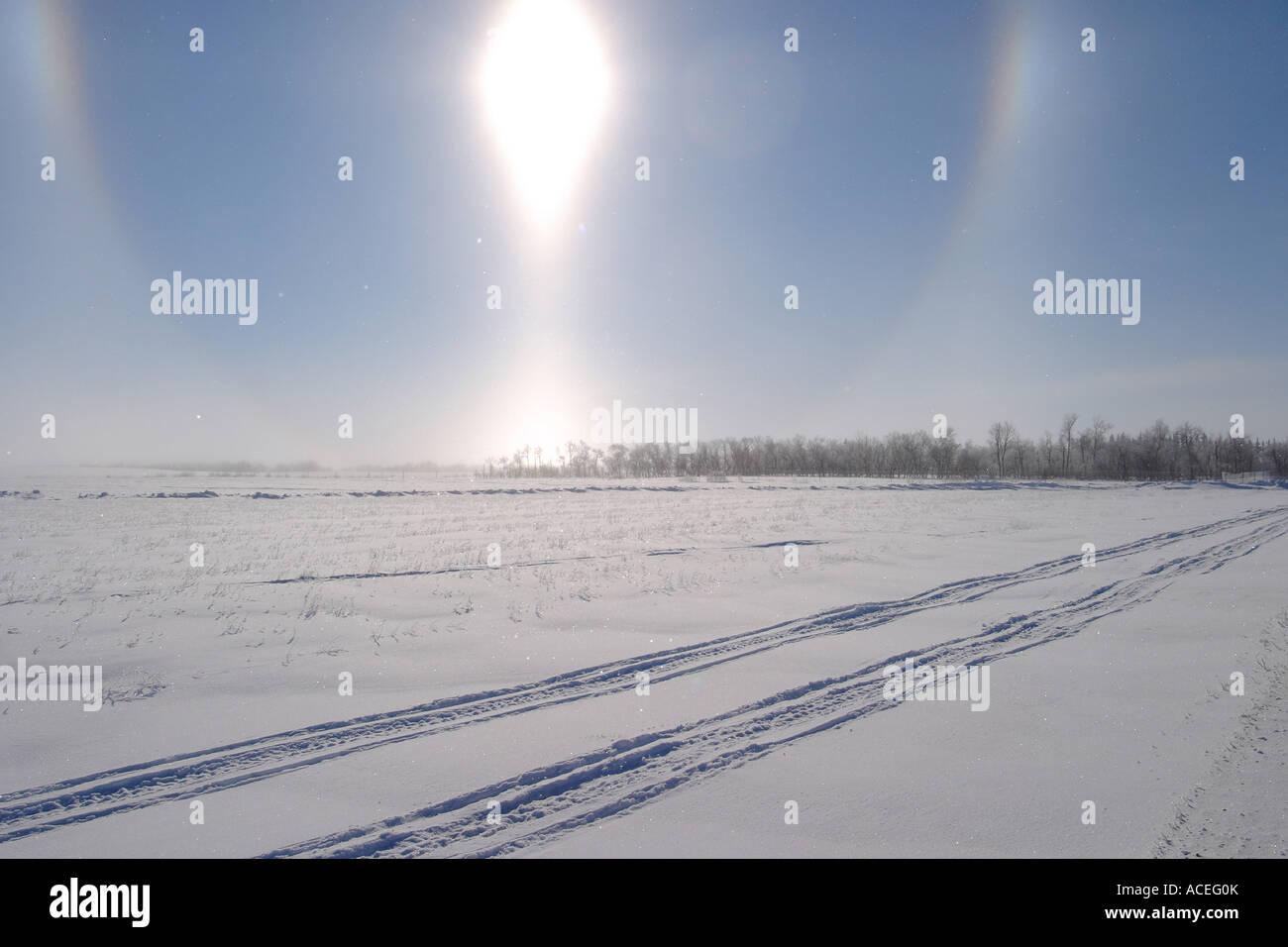 Sun Dogs - Stock Image