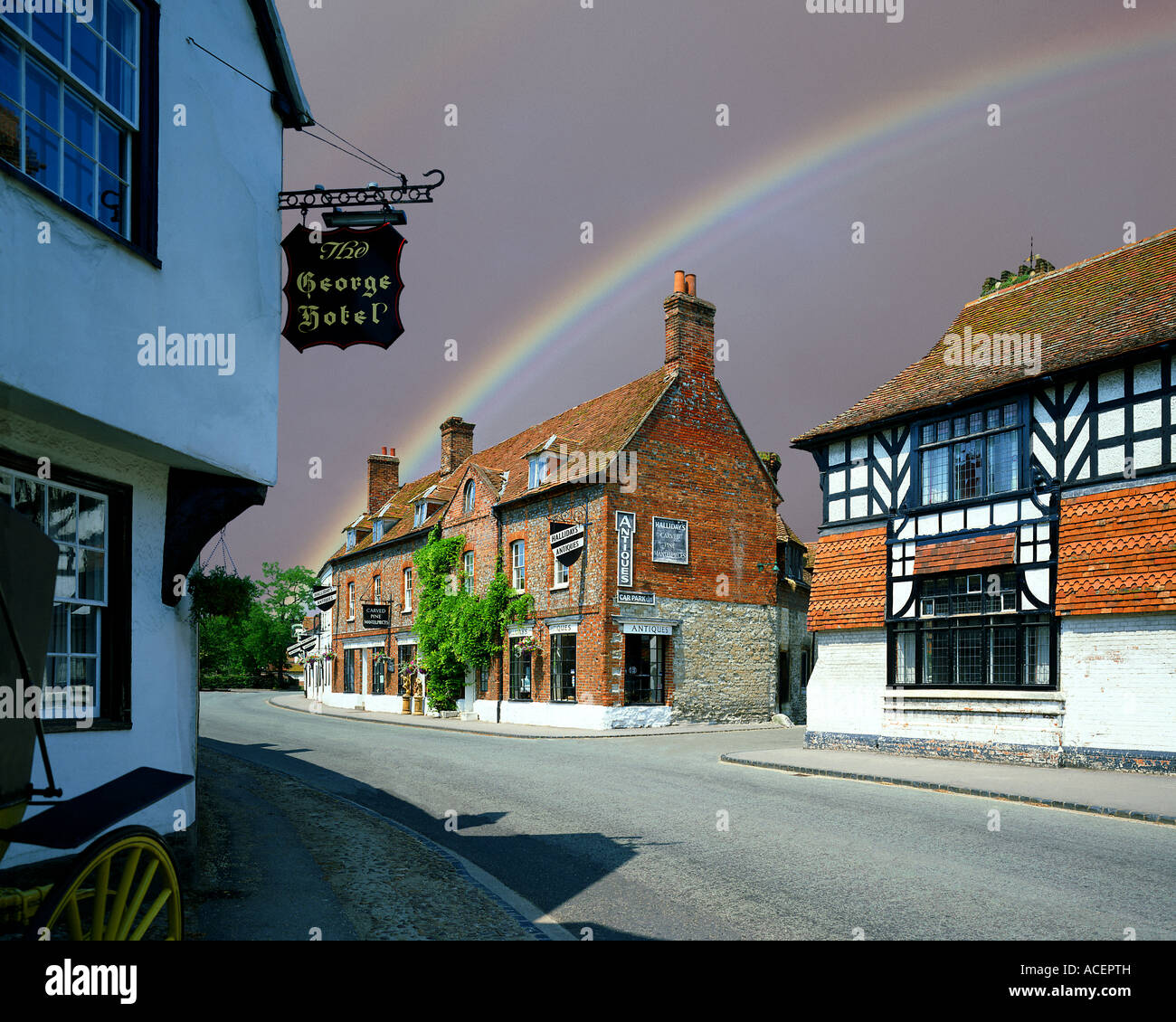 GB - OXFORDSHIRE: Dorchester-on-Thames - Stock Image