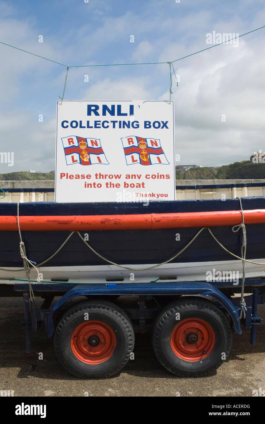 RNLI Boat - Stock Image