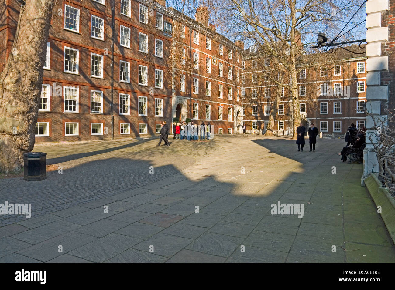 Fountain Court, Middle Temple, London WC2 - Stock Image