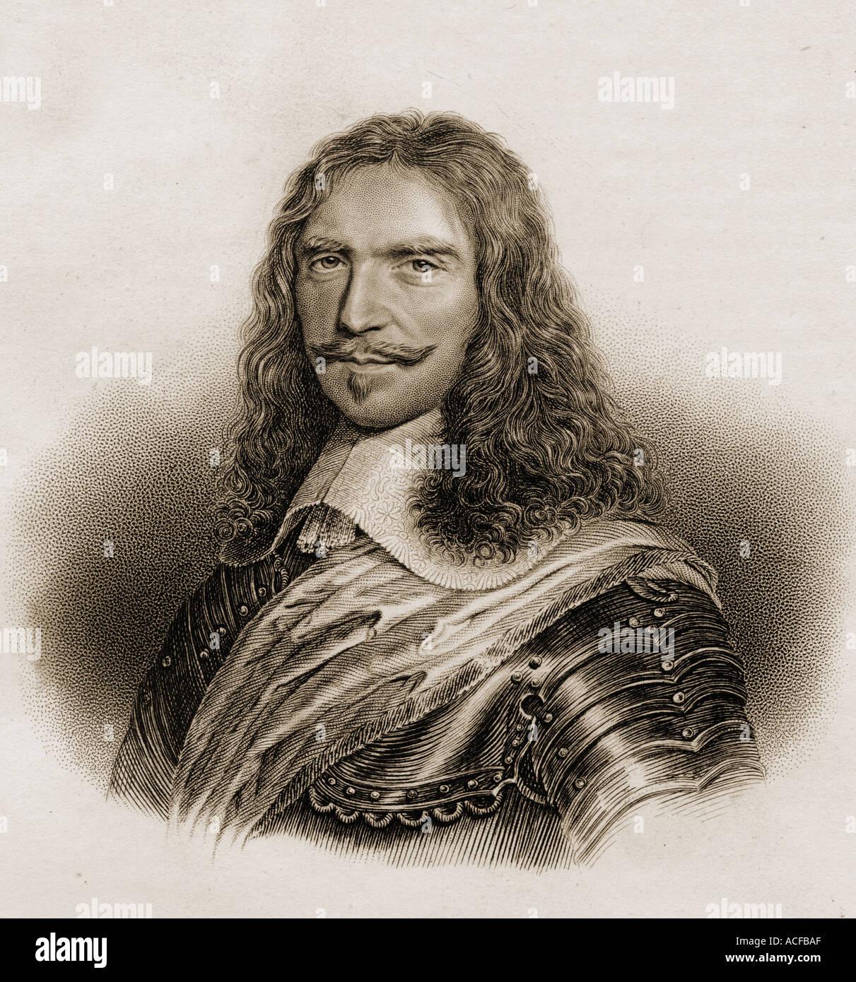 Henri de La Tour d'Auvergne, vicomte de Turenne, 1611 - 1675.French Marshal General and military leader. - Stock Image