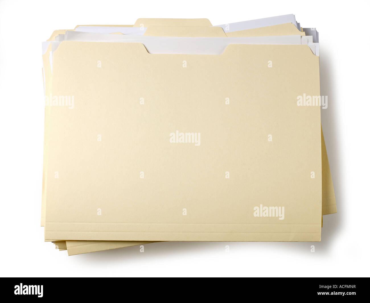 Folder file - Stock Image